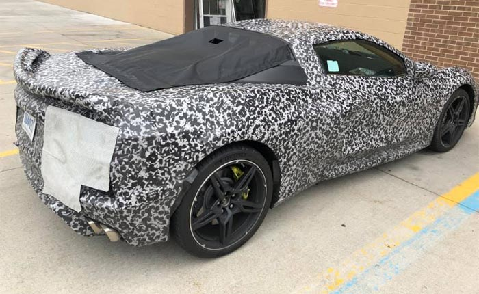 [SPIED] The C8 Corvettes Look Fast Even When Parked!
