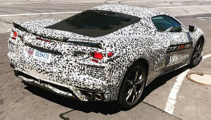 [PIC] Is the C8 Corvette Headed Back to the Nurburgring?