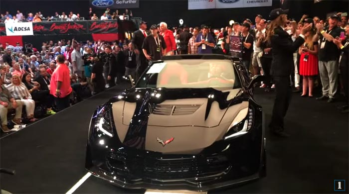[VIDEO] Experience the Excitement of Watching the Last C7 Corvette Sell for $2.7 Million