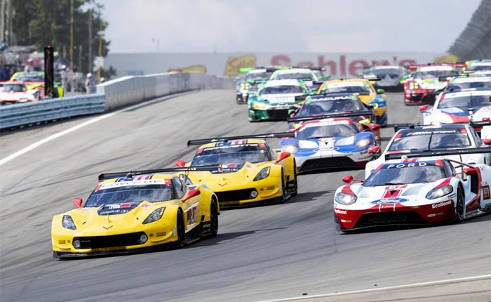 Corvette Racing at Watkins Glen: Runner-Up Finish for No. 3 Corvette