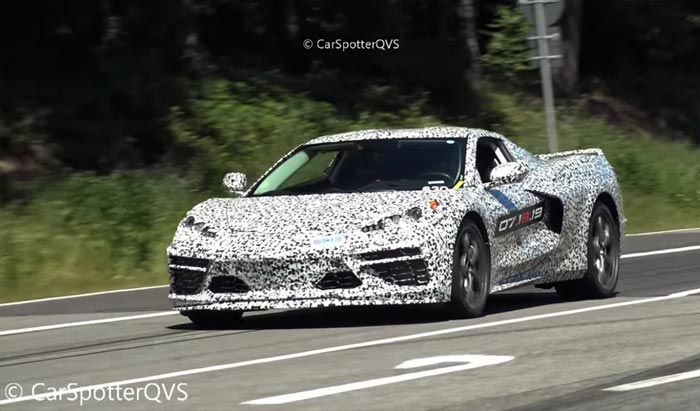 [SPIED] Get Up Close and Personal with these C8 Corvettes Fueling Up at the Nurburgring