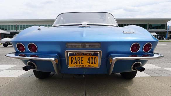 The Corvette Vanity Plates of Bloomington Gold 2019