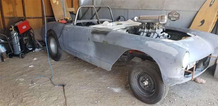 Corvettes On Craigslist: 1957 Corvette Street Rod Gasser