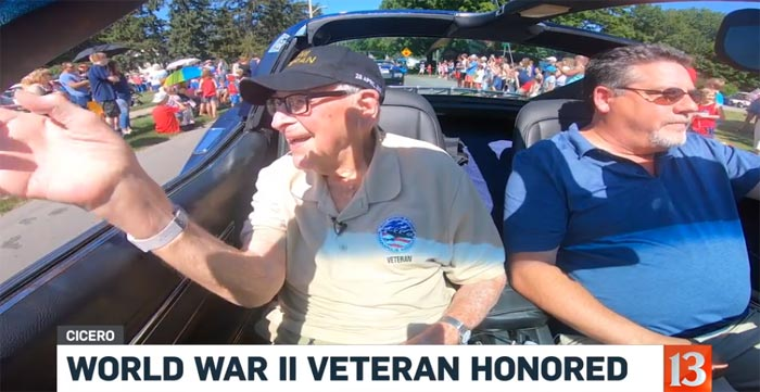 [VIDEO] This 100 Year Old World War II Veteran Was Honored at a Fourth of July Parade in Indiana