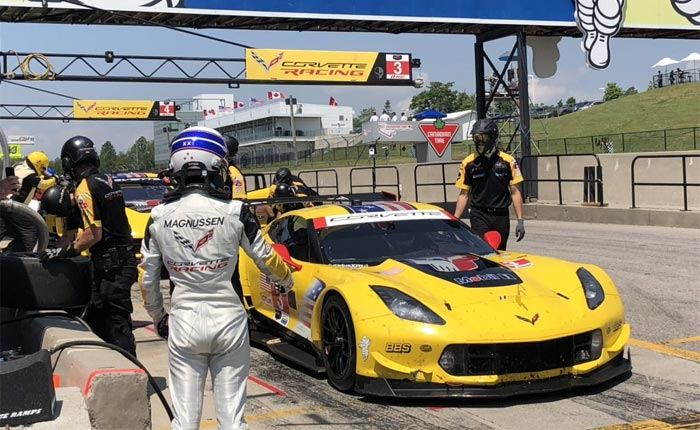 IMSA Hangs 10KG of Weight to the Corvette C7.Rs in BoP Adjustment Ahead of CTMP