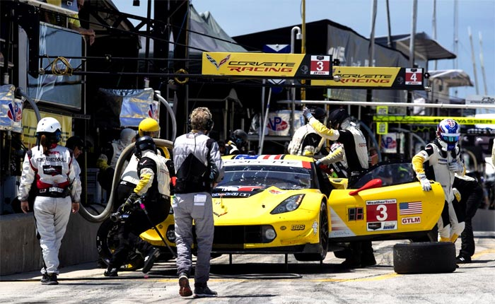 Corvette Racing in Canada: Tough Day but Corvettes Back in One Piece
