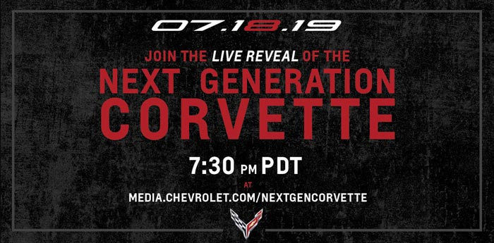 Chevrolet Shares Details of the C8 Corvette Reveal's Global Livestream