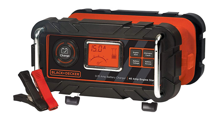 [AMAZON] Save 40% on BLACK+DECKER 12V Bench Battery Charger and Maintainer