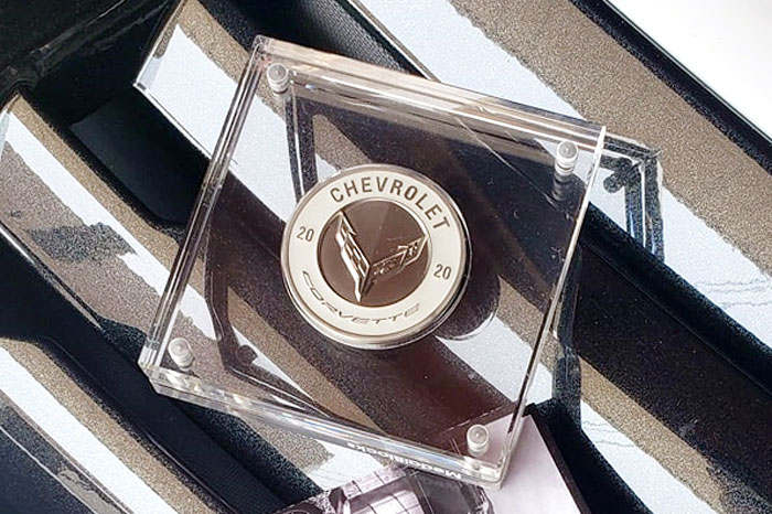 [PICS] The 12 Colors of the C8 Corvette Revealed on these Keepsake Coins