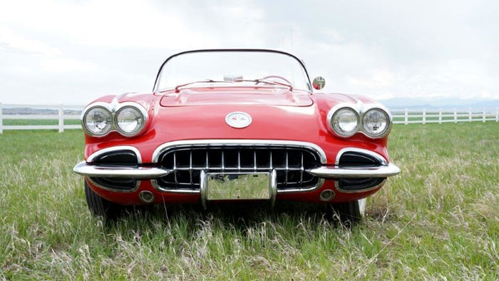 1958 Corvette To Be Auctioned at Mecum Denver With Proceeds Going to St. Jude's Children's Hospital