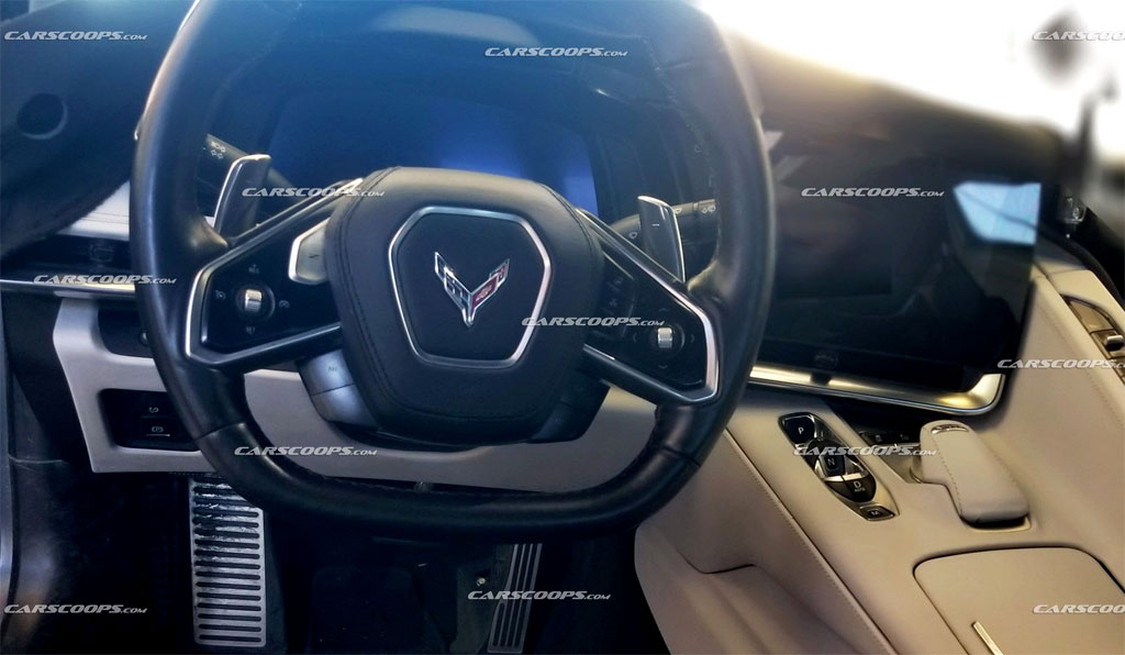 [SPIED] Carscoops Shares New Photos of the C8 Corvette Interior Ahead of Reveal