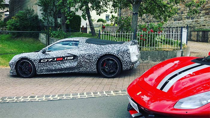 [SPIED] This Week's Round-Up of Videos and Photos Showing the C8 Corvette Captured In the Wild