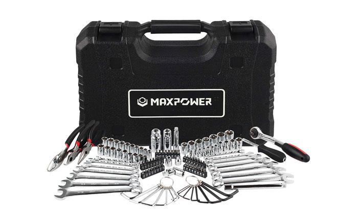 [AMAZON] Save 60% On MAXPOWER 124-Piece Mechanics Tool Set Now Priced at $35