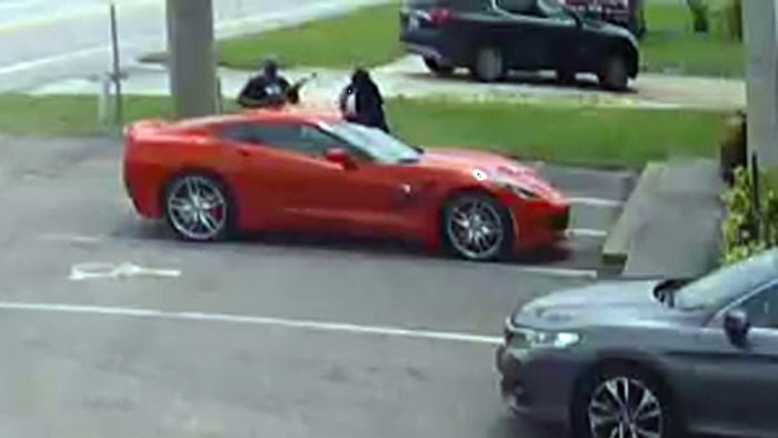 [VIDEO] Watch as Suspects Attempt Carjacking a Retired Police Officer in a C7 Corvette