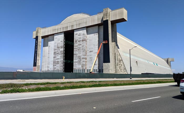 [PICS] The Tustin Blimp Hangar is Getting Ready for the C8 Corvette Reveal