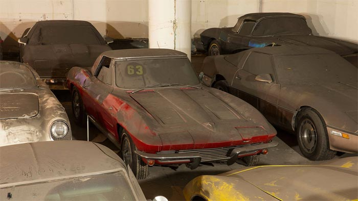 The Lost Corvettes: 36 Corvettes from NYC Barn Find To Be Raffled in Charity Sweepstakes
