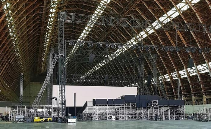 [PICS] A Look Inside the Tustin Blimp Hangar as Chevy Prepares for the C8 Corvette Reveal