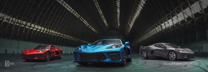 [VIDEO] Chazcron's C8 Mid-Engine Corvette Rendering Supercut