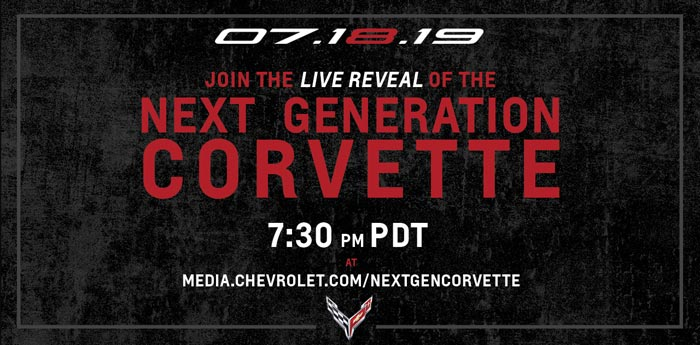 Watch the C8 Corvette Reveal Here
