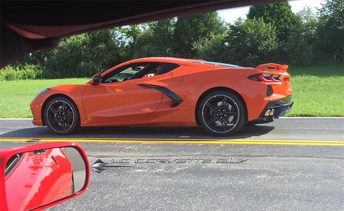 [SPIED] The Camo Come Off on the C8 Corvette Prototypes