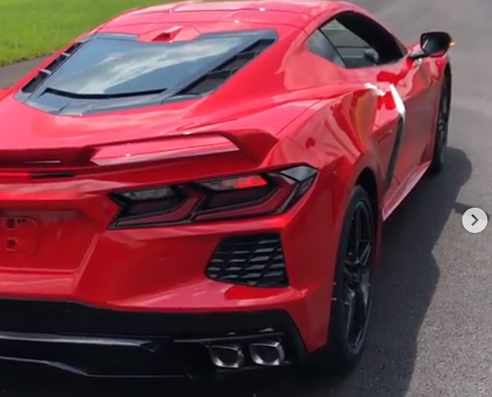 [VIDEO] 2020 Corvette Stingray Revs and Chirps Tires at the Corvette Assembly Plant