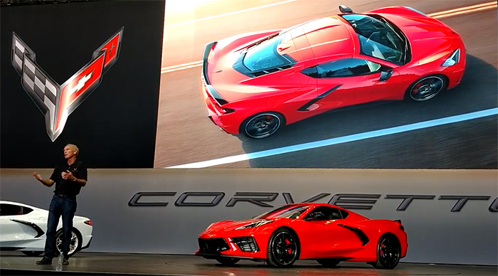 [VIDEO] Friday's Special 'Echo' Presentation of the 2020 Corvette Stingray