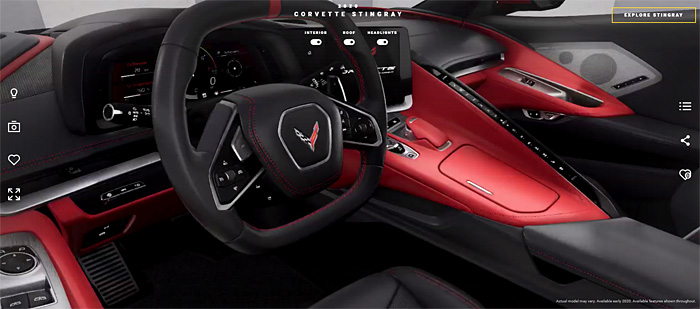 2020 Corvette Stingray Configurator and Order Guide