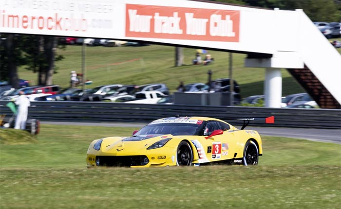 Corvette Racing at Lime Rock: Weathering the Weather