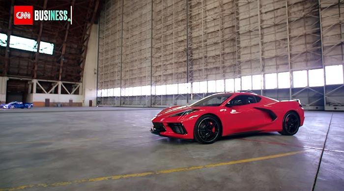 [VIDEO] Watch Mark Reuss Talk about the 2020 Corvette Stingray on CNN Business