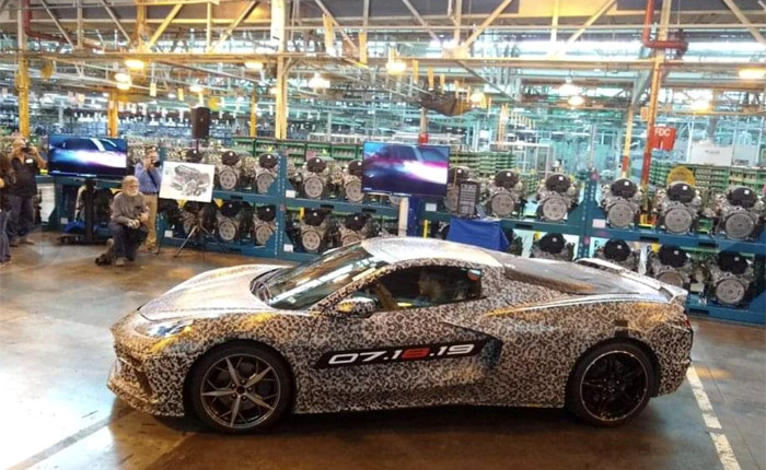 GM's Tonawanda Powertrain Facility to Build the LT2 V8 for the 2020 Corvette Stingray