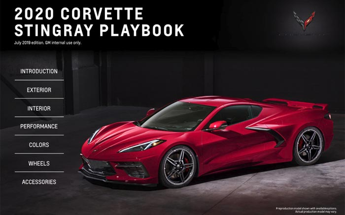 Download the 2020 Corvette Stingray Playbook