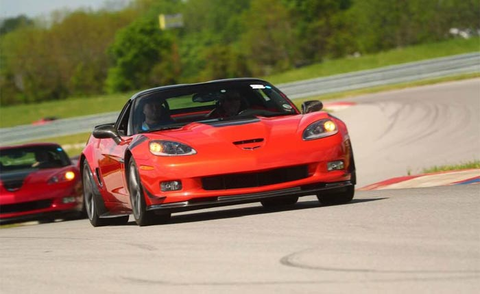 Register Now for the Corvette Museum's 25th Anniversary HPDE at the Motorsports Park