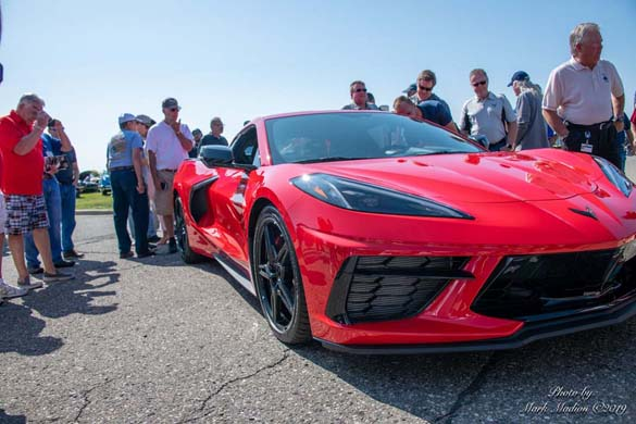 The 2020 Corvette Stingray at the GM Tech Center