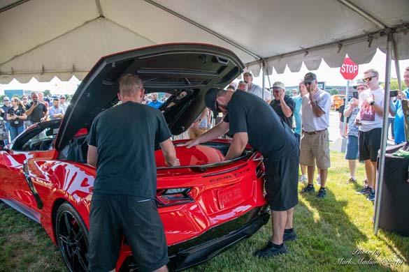 The 2020 Corvette Stingray at the GM Tech Center