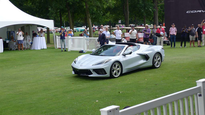 [GALLERY] The Mid Engine C8 Corvette at the Concours d'Elegance of America