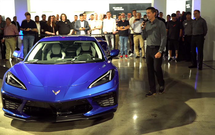 [VIDEO] Kirk Bennion and Josh Holder Answer Questions about the 2020 Corvette at the Petersen Auto Museum