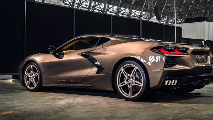 2020 Corvette Color Chart.Video Compilation Of 2020 Corvettes In All 12 Exterior