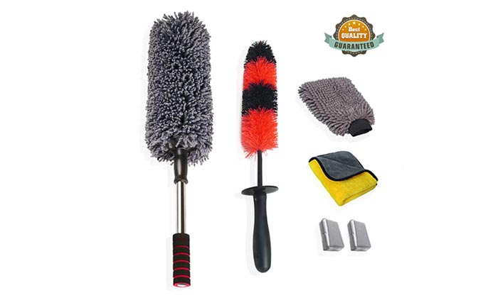 [AMAZON] Save 40% on the Upra Car Wash Brush Kit