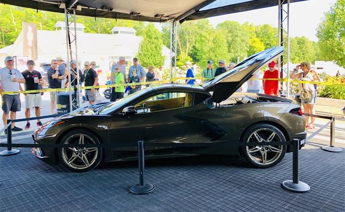 [PIC] The 2020 Corvette Stingray in Zeus Bronze on Display at Road America