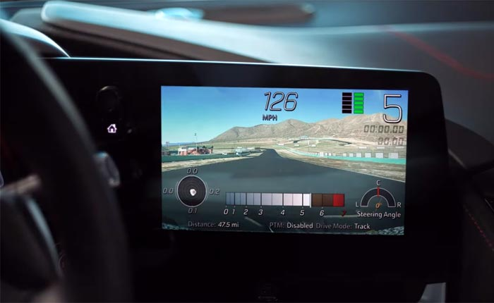 [VIDEO] Here's a Primer on the C8 Corvette's Performance Data Recorder