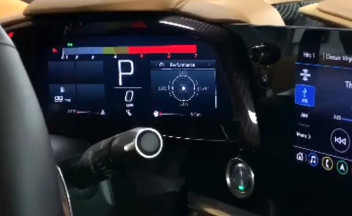 [VIDEO] 2020 Corvette Stingray's Dash and Infotainment Center Walkthrough