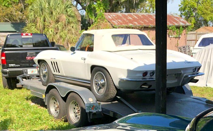 Corvettes on eBay: Barn Find Fuelie 1965 Corvette Sting Ray