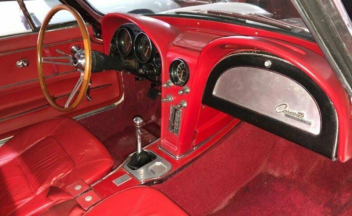 Corvettes on eBay: Barn Find Fuelie 1965 Corvette Sting Ray