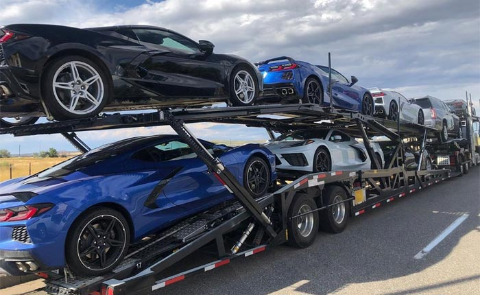 [SPIED] Stingray Fever: Seven 2020 Corvette Stingrays Testing Out West