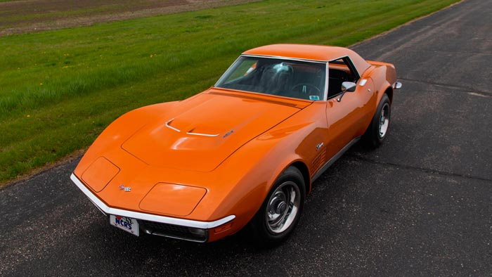 Rare 1971 Corvette ZR2 Convertible To Be Offered at Mecum Monterey