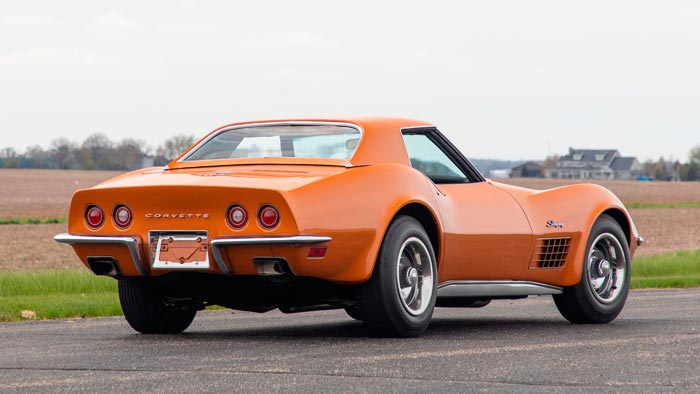 Rare 1 of 2 1971 Corvette ZR2 Convertibles To Be Offered at Mecmum Monterey