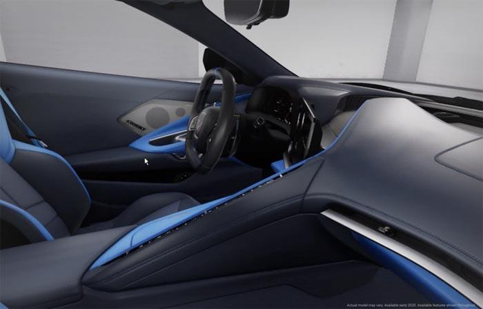 [PICS] The C8 Corvette's Tension and Twilight Blue Interior Spotted in Public