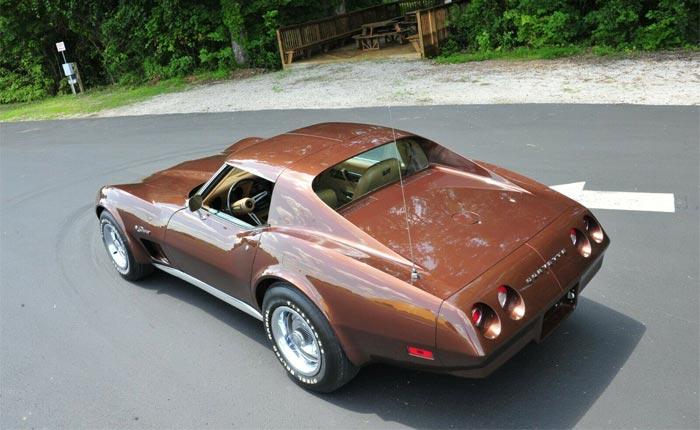 The National Corvette Museum Auctioning a Donated 1974 Corvette