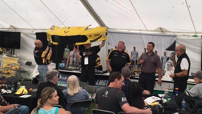 Dan Binks and Corvette Racing Raise $25,000 for Wisconsin's Camp Anokijig