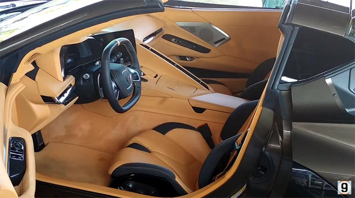 2020 Corvette Color Chart.Video Compilation Of The 2020 Corvette S Interior Color